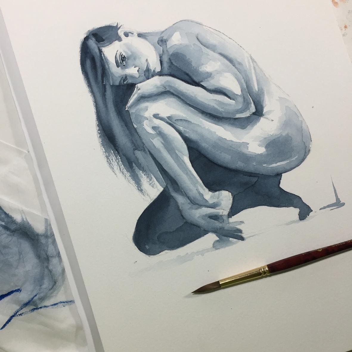 001 Alisa Vito Lentini Designer Acquarelli Sketches