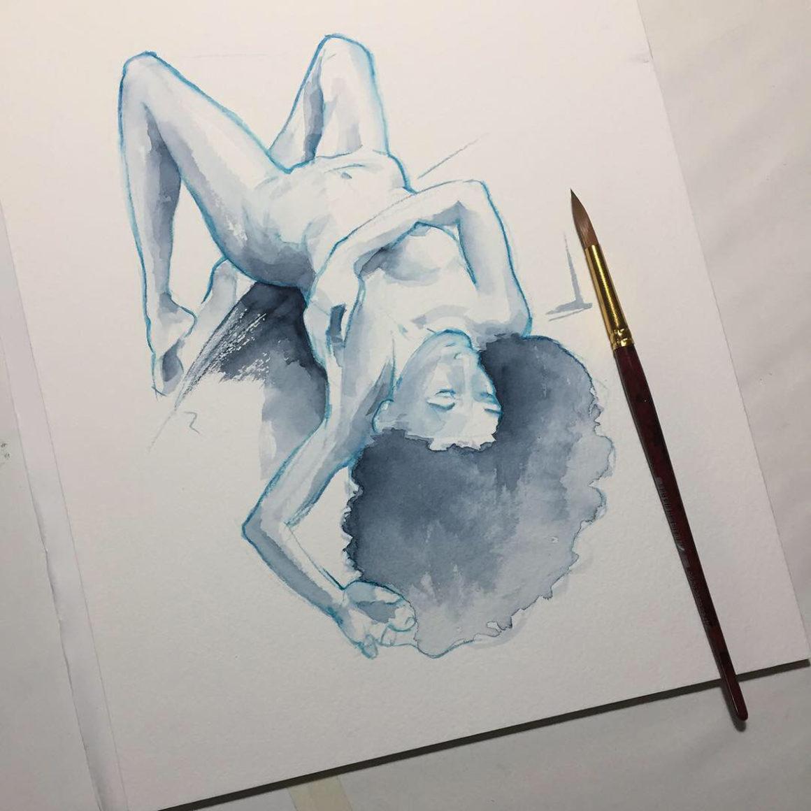 002 Arianna Vito Lentini Designer Acquarelli Sketches