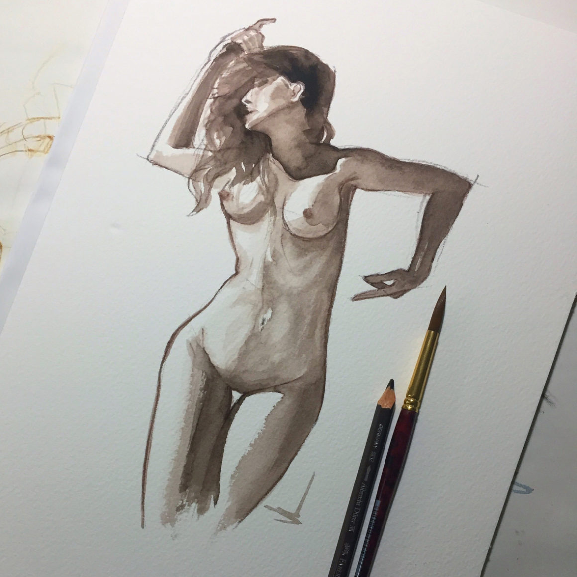 006 Lucy Vito Lentini Designer Acquarelli Sketches