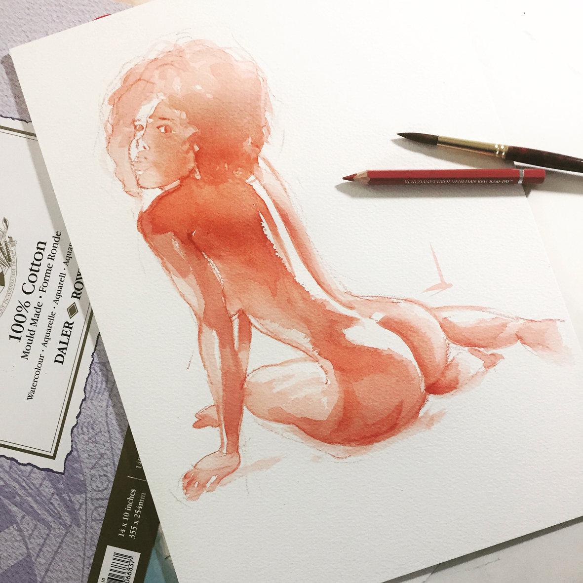 007 Nereida Vito Lentini Designer Acquarelli Sketches
