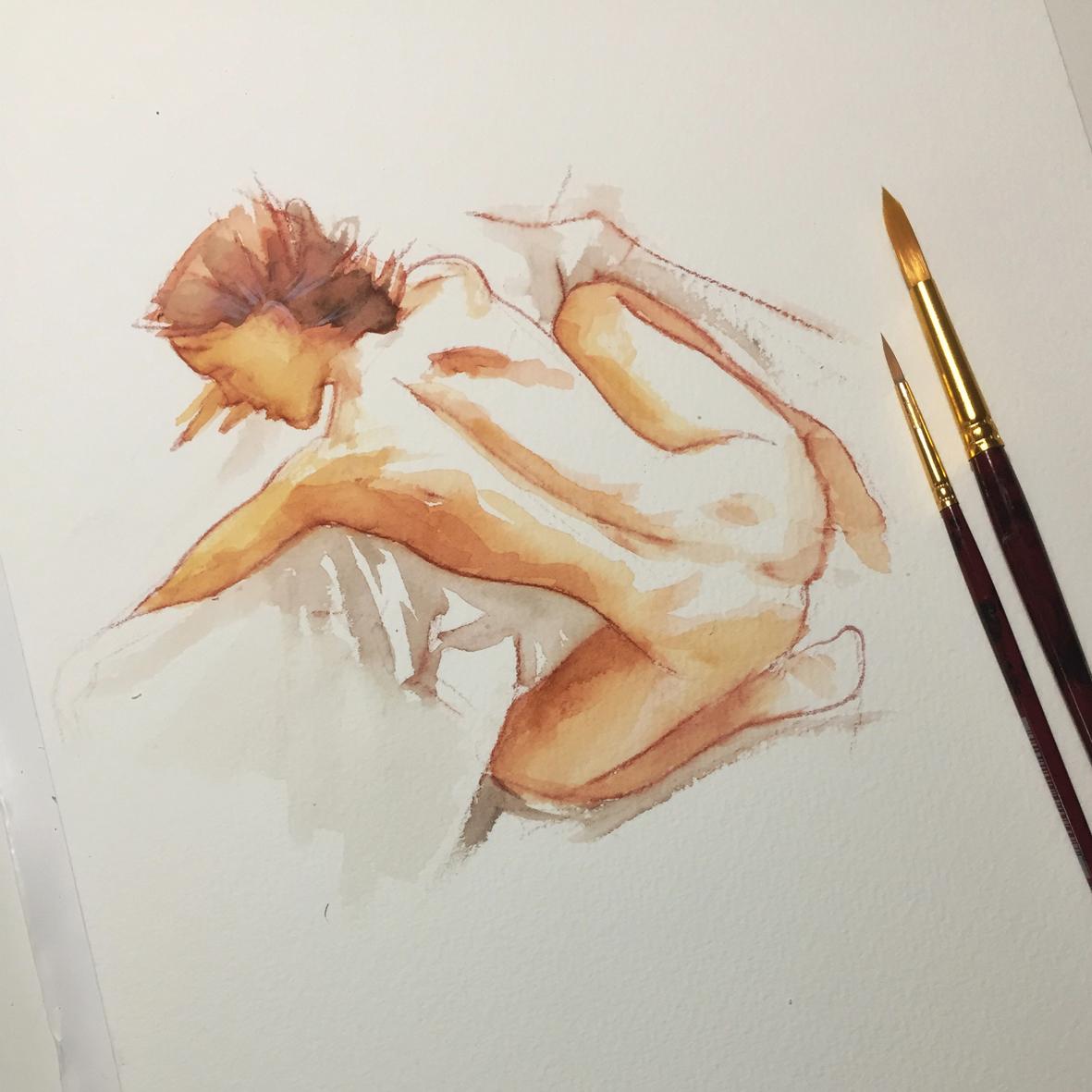 008 Radmila Vito Lentini Designer Acquarelli Sketches