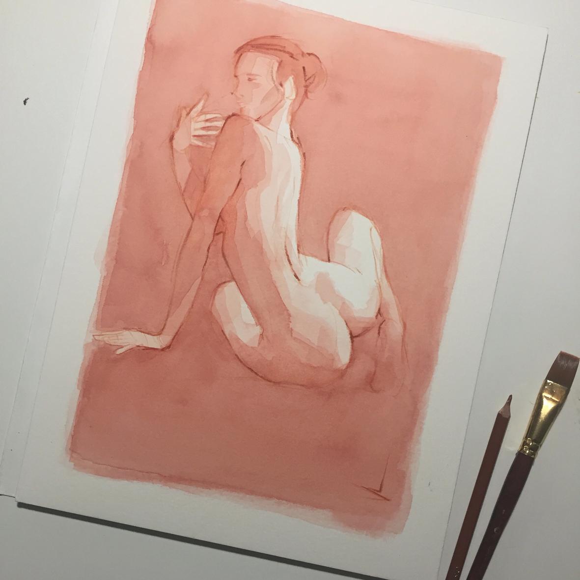010 Renée Vito Lentini Designer Acquarelli Sketches