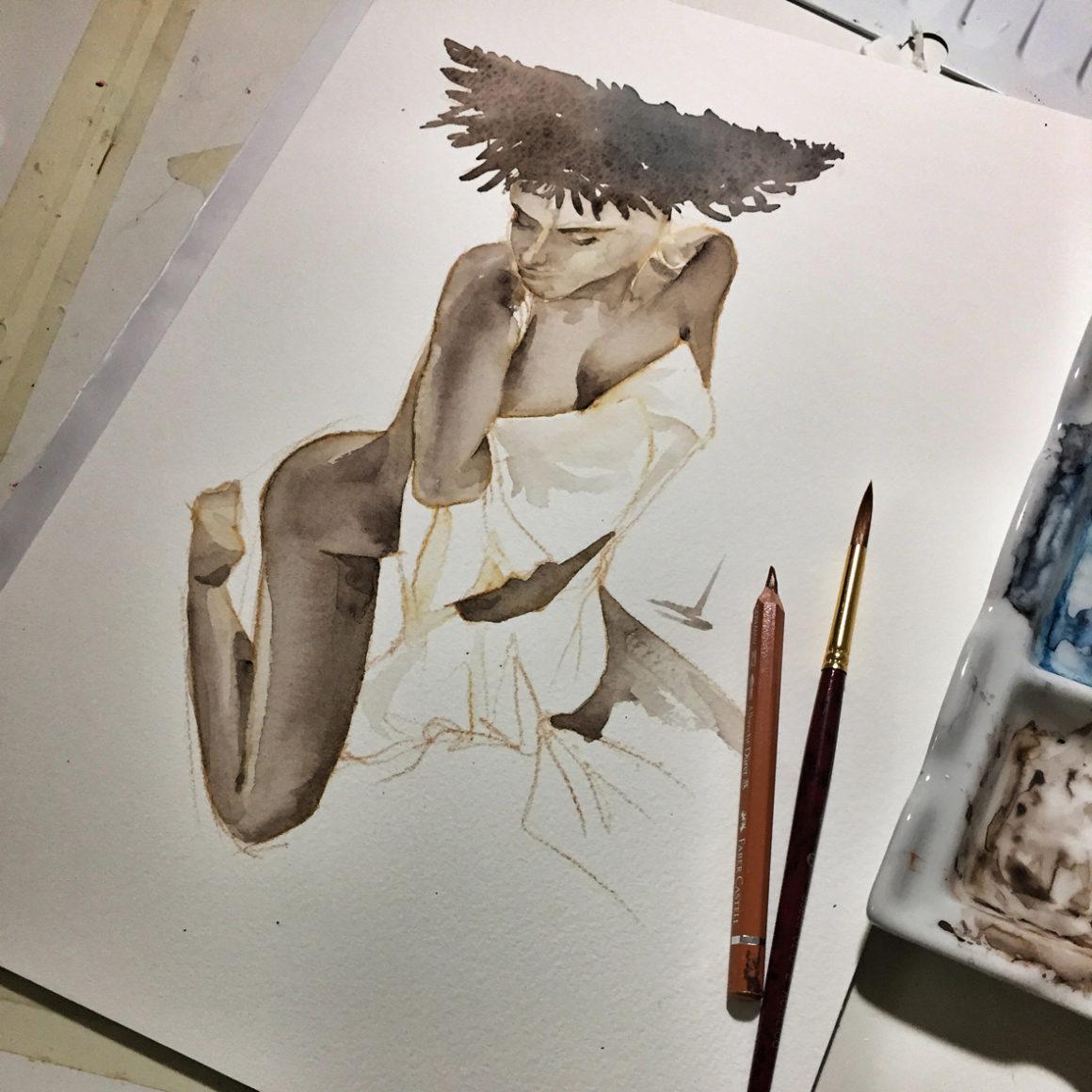 011 Samy Vito Lentini Designer Acquarelli Sketches