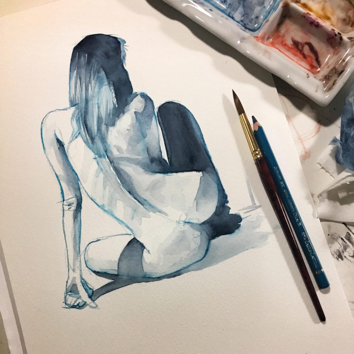 013 Unknown Vito Lentini Designer Acquarelli Sketches
