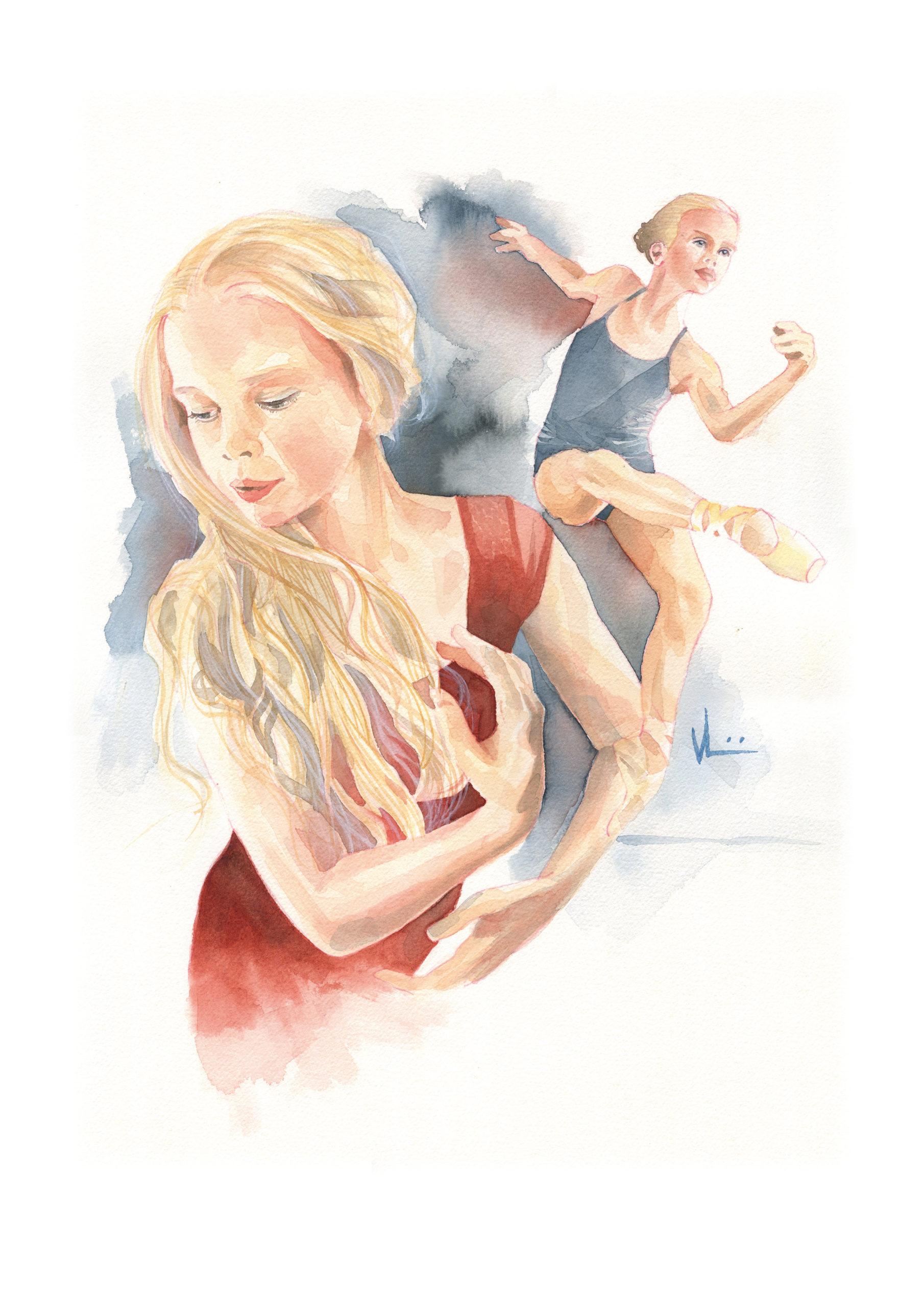 Dancer_Isobel_35x50_Watercolor