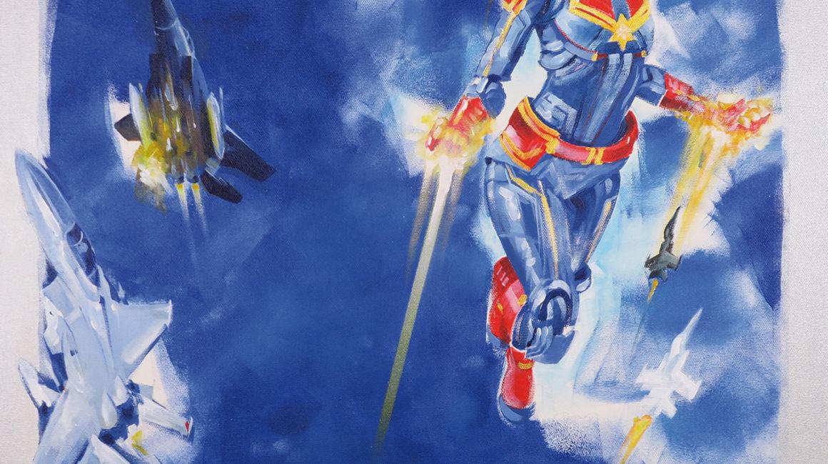 SH_Captain_Marvel_60x60_Acrylic_On_Canvas