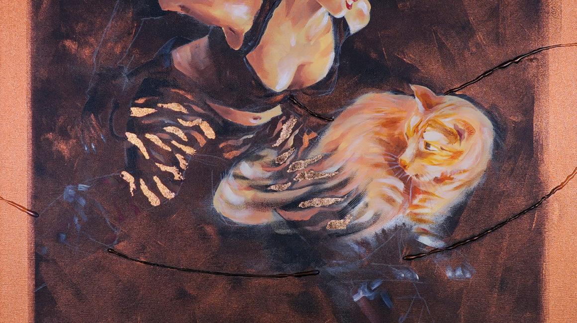 SH_Catwoman_60x60_Acrylic_On_Canvas