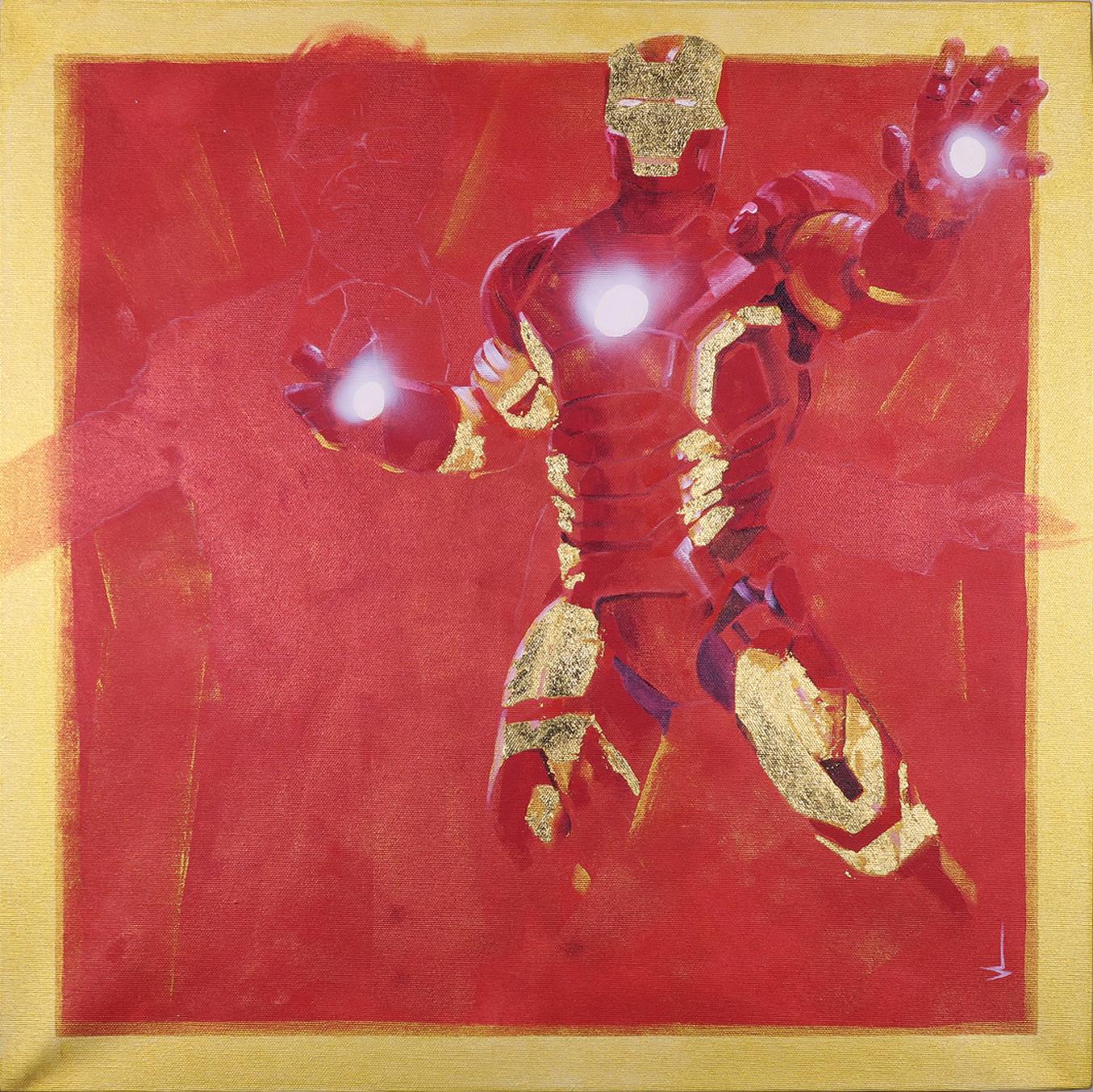 SH_Ironman_60x60_Acrylic_On_Canvas