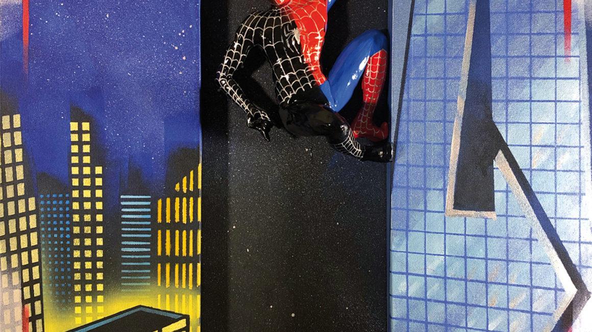 SH_Spiderman_60x60_Acrylic_On_Canvas