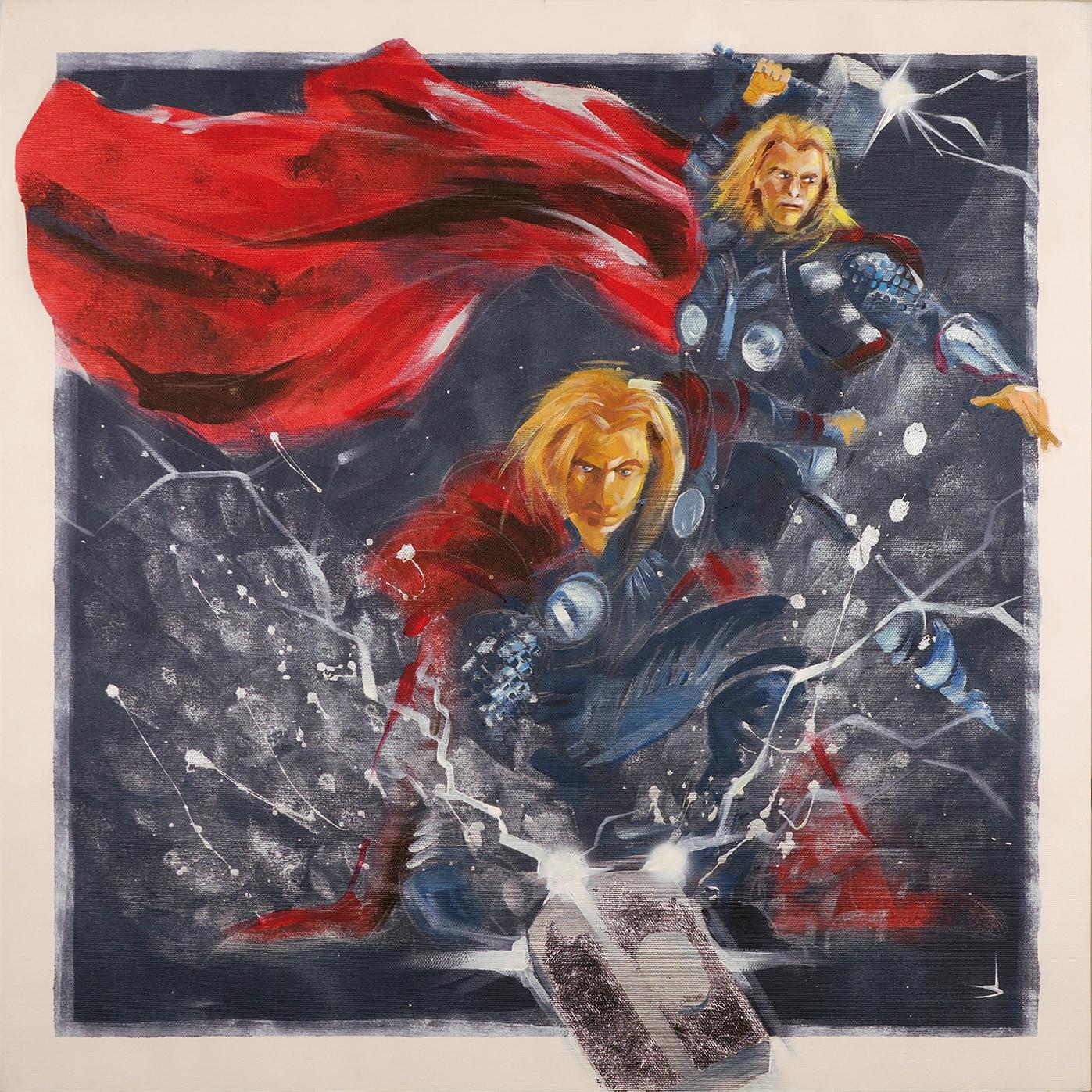 SH_Thor_60x60_Acrylic_On_Canvas